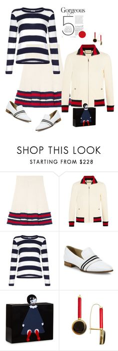 """Strike a Point'"" by dianefantasy ❤ liked on Polyvore featuring Gucci, Splendid, rag & bone, Lulu Guinness, Marni, polyvorecommunity and polyvoreeditorial"