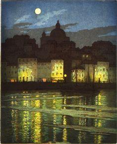 Frederick Marriott, Chiaro di luna a Taranto