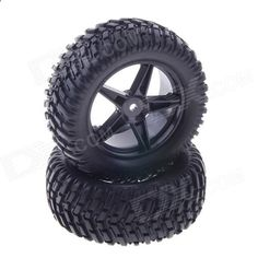 90mm Rubber Tyres Set for 1/10 RC On-Road Car - Black (2 PCS). Brand N/A Quantity 2 Piece(s)/pack Color Black Material Rubber   plastic Compatible Models 1/10 RC On-Road Car Application Run Other Feature Diameter: 90mm; Width: 39mm; Weight: 149.4g Packing List 2 x Tyres. Tags: #Hobbies #Toys #R/C #Toys #Repair #Parts #and #Tools