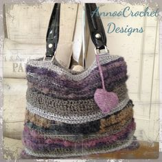 Fall beauty Crochet Handbag