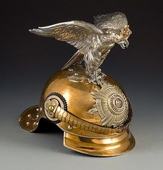 "neoprusiano: ""Pickelhaube Prussian Garde Du Corps Officer's Spiked Helmet (c. 1800) """