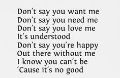 Depeche Mode--It's No Good Best DM song ever, i plat it over and over and over again sinds it came out