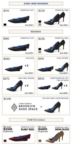 45016c73034f Antonia Saint NY is raising funds for High-Tech Heels   Flats that Feel  Like Sneakers Inside on Kickstarter! Gorgeous heels   flats with hidden  technology