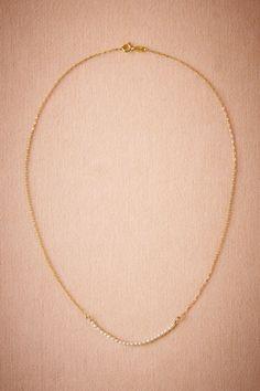Très Délicat Necklace in Bride Bridal Jewelry Necklaces at BHLDN