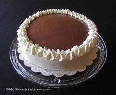 """Othellolagkage """"Othello Cake"""" a Danish specialty layered cake. This can be on my baking bucket list with this many yummy steps."""