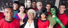 Nichelle Nichols Conquers San Diego Comic-Con   Perhaps the most ubiquitous person at San Diego Comic-Con was Nichelle Nichols. That she's 83 years old and not that far removed from a stroke made her omnipresence that much more remarkable.  Star Trek's legendary Uhura took the stage at the IMAX world premiere of Star Trek Beyond. Her appearance which occurred pre-screening elicited wild cheers from the adoring audience.  Nichols also beamed over to the Entertainment Earth booth for a…