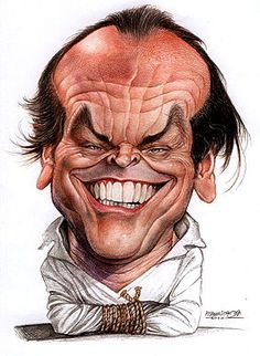 Jack Nicholson  #art #Caricature #cool