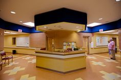 JFK Alcohol & Drug Treatment Center-Nurse Station Acoustical Treatment - Asheville, NC. - Alexander Design Studio, PC