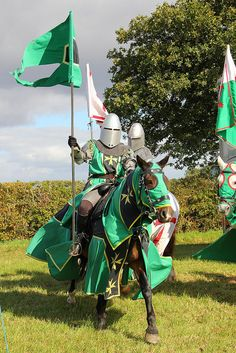 The Knights Of The Damned, Averham, Nottinghamshire by Geraldine Curtis, via Flickr