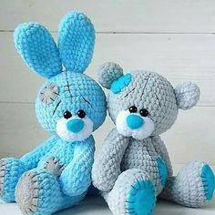 Mesmerizing Crochet an Amigurumi Rabbit Ideas. Lovely Crochet an Amigurumi Rabbit Ideas. Crochet Baby Toys, Crochet Bunny, Cute Crochet, Crochet Dolls, Crochet Crafts, Crochet Projects, Beautiful Crochet, Diy Crafts, Crochet Dragon Pattern