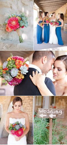 I think I might love everything about this wedding: Board #87392