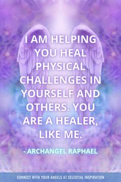 Archangel Prayers, Healing Affirmations, Archangel Raphael, Your Guardian Angel, Healer, Blessings, How To Find Out, Meditation, Spirituality