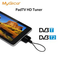Micro USB DVB T2 TV tuner Geniatech mygica PT360 DVB-T2 pad TV stick HD terrestrial receiver DVB T for Android phone tablet category the Satellite antenna on Aliexpress. DVB-T2 micro-USB TV tuner Geniatech mygica PT360 DVB-T2 pad TV stick HD terrestrial receiver DVB-T phone tablet