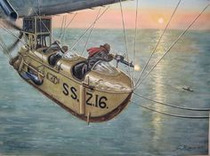 An unusual duel in the World War One, Airship vs U-Boot (Osprey Publishing)
