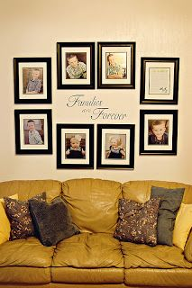 I Like This Idea But It Could Be Arranged Diffely Dinning Room Wall Decor