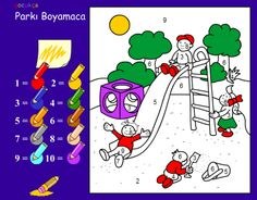 Actividades para Educación Infantil: Coloreamos según los números