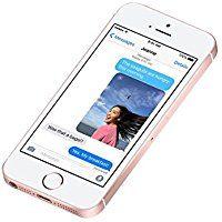 Apple iPhone SE Smartphone débloqué 4G (Ecran : 4 pouces - 16 Go - Simple Nano SIM - iOS) Or Rose (Import Allemagne)