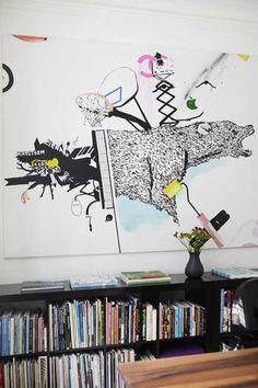 用壁畫讓空間充滿藝術氣息~哥本哈根的美麗人文公寓 | 設計家 Searchome - 華文最大室內設計社群平台