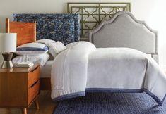 Seward 100% Belgian Linen 3 Piece Duvet Set Duvet Sets, Duvet Cover Sets, Hot Pink Bedrooms, White Duvet Covers, Master Suite, Ottoman, Throw Pillows, 3 Piece, Furniture