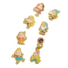 [Disney Store] earrings 7P 7 Dwarfs | Disneystore and if gift gift of mail order and sales