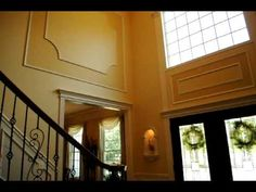 2 story foyer molding - Google Search
