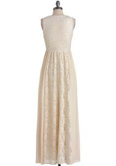 Crème de la Bohème Dress, #ModCloth
