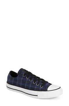 Converse+Chuck+Taylor®+All+Star®+Plaid+Low+Top+Sneaker+(Women)+available+at+#Nordstrom