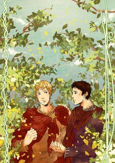 BBC Merlin: I wanna hold your hand by nella-fantasiaa.deviantart.com on @deviantART