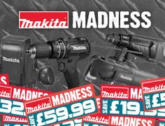 Makita Madness 2 Power Tool Accessories, Makita, Power Tools, Hand Tools, Aloe, Madness, Delivery, Day, Electrical Tools