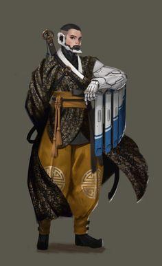 ArtStation - hanbok, Jongsik Moon Character Concept, Character Art, Steampunk Armor, Science Fiction, Space Opera, Arte Ninja, Cyberpunk Character, Sci Fi Characters, Environment Concept Art