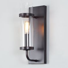 Check out Rustic Cylinder Sconce from Shades of Light  possible DR sconces