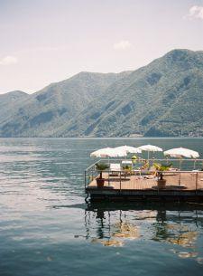 Lake Lugano Pier