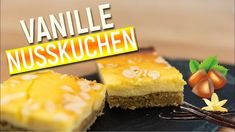 Vanille-Nusskuchen - Rezept von Carmens Köstliche Küche Pampered Chef, Sushi, Pineapple, Cheesecake, Fruit, Ethnic Recipes, Youtube, Vanilla, Just Bake