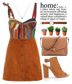 """""""Home, sweet home!"""" by amilla-top ❤ liked on Polyvore featuring Rosie Assoulin, Tsovet, outfit, khaki and shein"""