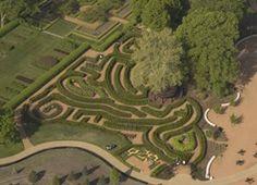 Maze Garden at The Morton Arboretum, IL    #nature #mortonarboretum #garden #Chicago #outdoors #maze