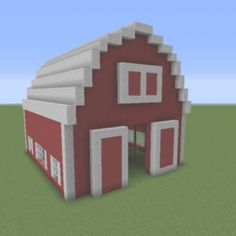 Red Barn 2 - GrabCraft - Your number one source for MineCraft . Red Barn 2 - GrabCraft - Your number one source for MineCraft . Villa Minecraft, Minecraft Dog House, Minecraft Stables, Minecraft Farmen, Architecture Minecraft, Construction Minecraft, Cute Minecraft Houses, Minecraft Mansion, Minecraft Houses Blueprints