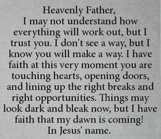 This is an awesome prayer. Wow, needed this today!