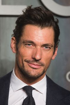 David Gandy attends the OMEGA 'Lost in the Space' dinner to celebrate the 60th anniversary of the OMEGA Speedmaster