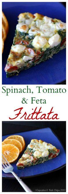 ... spinach and feta frittata recipes dishmaps light spinach and feta