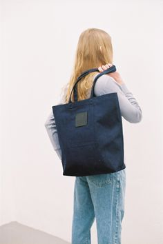 SALE: Label Bag Denim