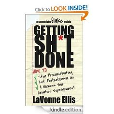 My Kindle book is free for 3 days: Getting Sh*t Done: How to Stop Procrastinating, Let Perfectionism Go, & Harness Your Creative Superpowers $0  Grab it here: http://amzn.to/YByyZf