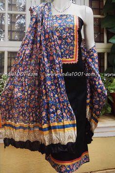 Elegant Cotton Unstiched Suit Fabric