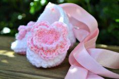 Free Crochet Baby Booties for Girls