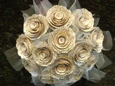 12 one dozenlarge  2 spiral book page paper by HBixbyArtworks, $40.00