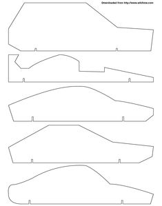 bsa pinewood derby templates - basic pinewood derby car building instructions from abc
