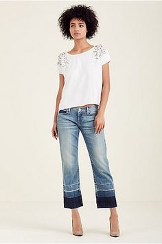 RELAXED STRAIGHT WOMENS JEAN - True Religion