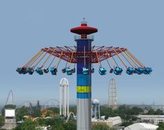 Cedar Point has announced that it will introduce a swing ride to the Sandusky, Ohio, amusement park/resort for next summer. Best Amusement Parks, Amusement Park Rides, Abandoned Amusement Parks, Sandusky Ohio, Abandoned Cities, Abandoned Mansions, Carnival Rides, Cedar Point, Park Resorts