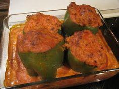 Mrs. Schwartz's Kitchen: Stuffed Peppers