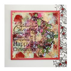 This Handmade Card was made by Anna Flanders.