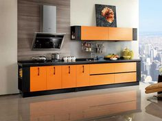 http://www.oppein-global.com/e-commerce/?304,kitchen_cabinet_op12_l053    Products Details:         Specification:    Kitchen Furniture --Kitchen Cabinet - OP12-L053  Orange Laminate Kitchen Cabinet  Acoording to E1 environmental protection standard  Laminate Series